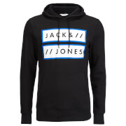 Jack & Jones Men's Core Submit Hoody - Black