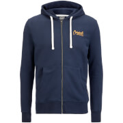Jack & Jones Men's Originals Scala Zip Through Hoody - Navy Blazer