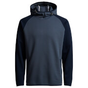 Jack & Jones Men's Core Jason Raglan Hoody - Ombre Blue