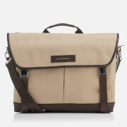 "WANT Les Essentiels de la Vie Men's Jackson 15"" Messenger Bag - Sand/Mahogany"