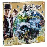 Image of Harry Potter Magical Creatures Round Collector's Puzzle (500 Pieces)