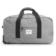Herschel Supply Co. Wheelie Outfitter Case - Raven/Crosshatch