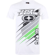 No Fear Men's Race Jersey T-Shirt - White