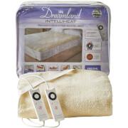 Dreamland 16297 Sleepwell Intelliheat Soft Fleece Fitted Electric Under Blanket - Cream - Double Dual