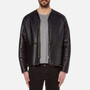 Our Legacy Men's Leather Liner Jacket - Black