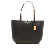 Lauren Ralph Lauren Womens Milford Olivia Tote Bag  BlackCamel