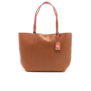 Lauren Ralph Lauren Womens Milford Olivia Tote Bag  BourbonRed