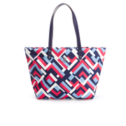 Lauren Ralph Lauren Womens Bainbridge Nylon Tote Bag  Marine Multi Geo