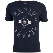 T-Shirt Homme Kinetic Col Rond Smith & Jones -Bleu Marine