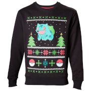 Pokémon Bulbasaur Christmas Jumper