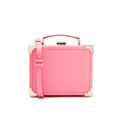 Aspinal of London Women's Trunk Smooth Bag - Pink
