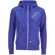 Crosshatch Herren Flexon Zip Through Hoody - Sodalite Blue