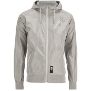 Crosshatch Herren Flexon Zip Through Hoody - Grey