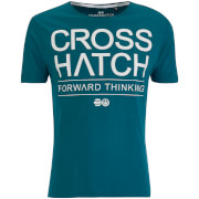 Crosshatch Herren Roshaun T-Shirt - Dragonfly