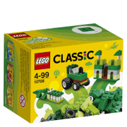 LEGO Classic: Boîte de construction verte (10708)
