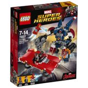 LEGO Marvel Superheroes: Iron Man: Detroit Steel valt aan (76077)