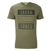 Jack & Jones Men's Core Trevor T-Shirt - Deep Green