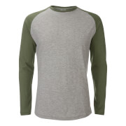 Jack & Jones Originals Stan Raglan T-shirt - Grijs/Groen