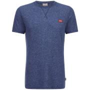 Jack & Jones Originals Men's Kingpin Textured T-Shirt - Dark Denim Marl
