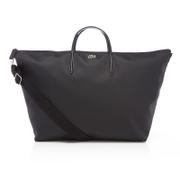 Lacoste Womens Travel Shopping Bag  Black