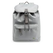 Lacoste Men's Flap Backpack - Grey