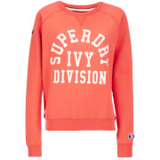 Superdry Women's Tri League Crew Sweatshirt - Tri League Red