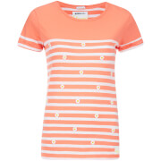 Superdry Women's Daisy Breton T-Shirt - Hot Coral