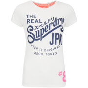 Superdry Women's Classic T-Shirt - Vintage White Heather