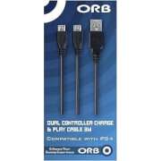 Orb DUAL CONTROLLER CHARGE & PLAY CABLE 3M