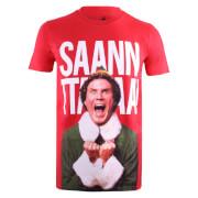 Elf Men's Santa T-Shirt - Red