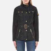 Barbour International Womens Swingarm Casual Jacket  Black  UK 8