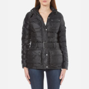 Barbour International Womens International Beam Quilt Jacket  Black XSUK 8