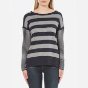 Barbour International Women's Rivco Knitted Top - Denim Grey