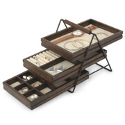 Umbra Terrace Jewellery Tray - Walnut