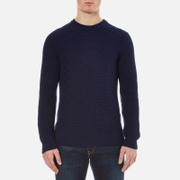 Luke 1977 Men's Top Rod Knit Jumper - Lux Midnight