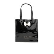 Ted Baker Womens Aracon Colour Block Bow Small Icon Bag  Black