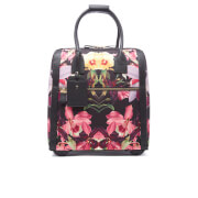 Ted Baker Womens Donnie Lost Gardens Travel Bag  Black