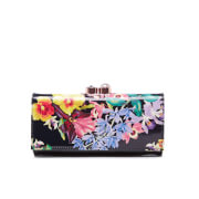 Ted Baker Womens Alsori Lost Gardens Printed Matinee Purse  Black