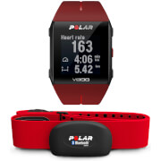 Polar V800 GPS Sports Watch with Heart Rate Monitor  Red
