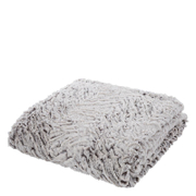 Catherine Lansfield Wolf Faux Fur Throw (150cm x 200cm) - Neutral