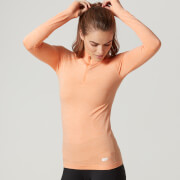 Myprotein Seamless Long Sleeve ¼ Zip Top, Dam