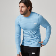 Myprotein Men's Seamless Long Sleeve T-Shirt - Blue