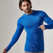 Myprotein Men's Seamless Long Sleeve T-Shirt - Royal Blue