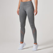 Myprotein Women's Core Full Length Legging – Grey Marl