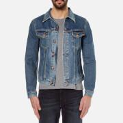 Nudie Jeans Mens Billy Denim Jacket  Crunch Blue  M