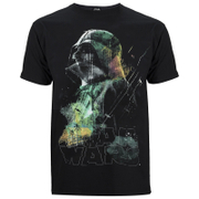 T-Shirt Homme Star Wars Rogue One Rainbow Effect Dark - Noir