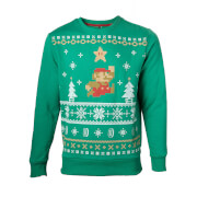 Mario Christmas Jumper - Super Star