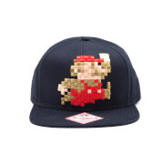 Mario 8-Bit Snapback Cap