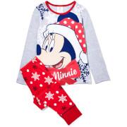 Pyjama pour Enfant - Disney Minnie -Rouge
