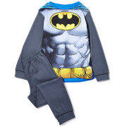 DC Boy's Batman Novelty Cape Pyjamas - Grey